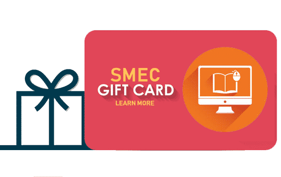smec gift card online training