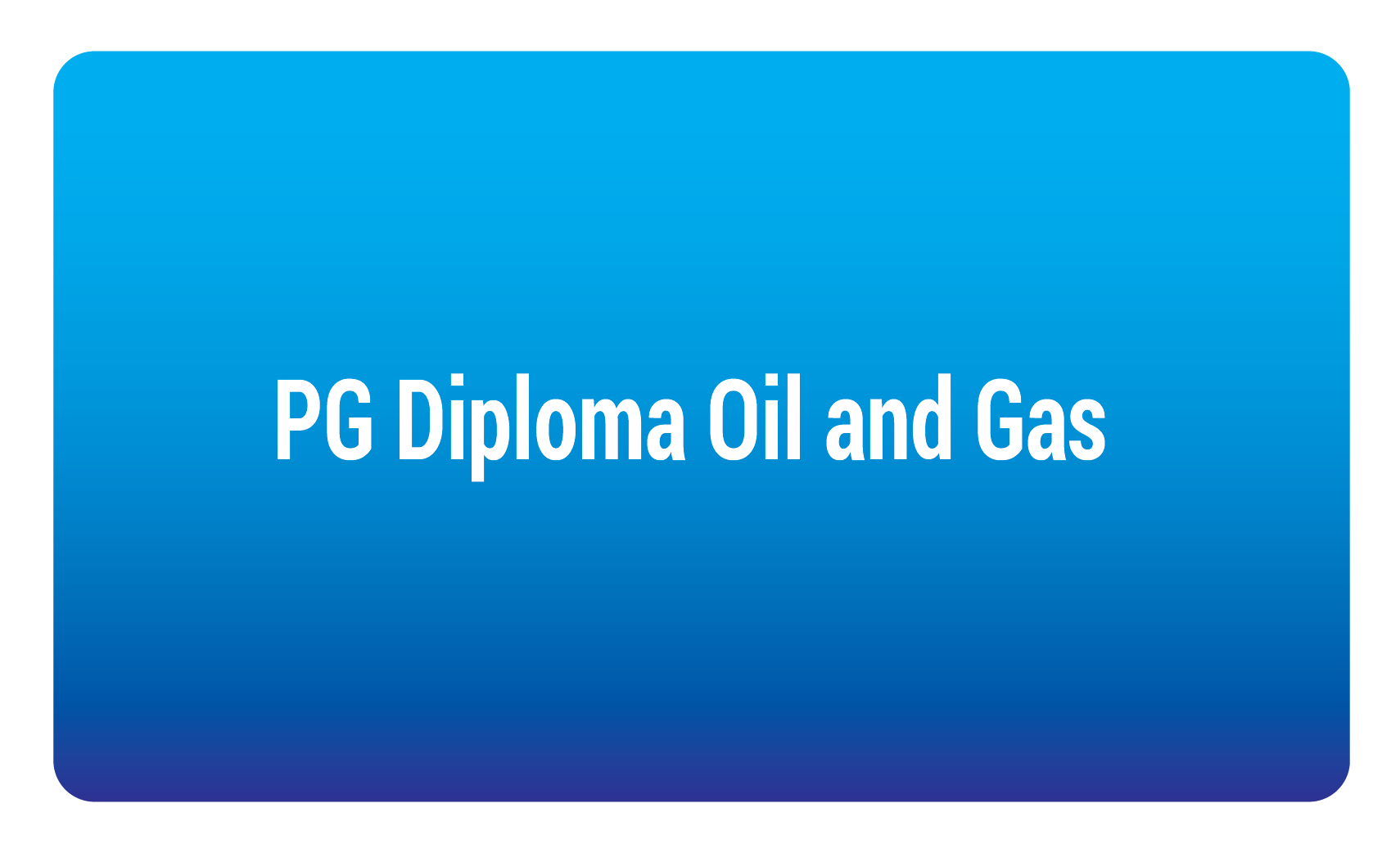 pg diploma oil and gas