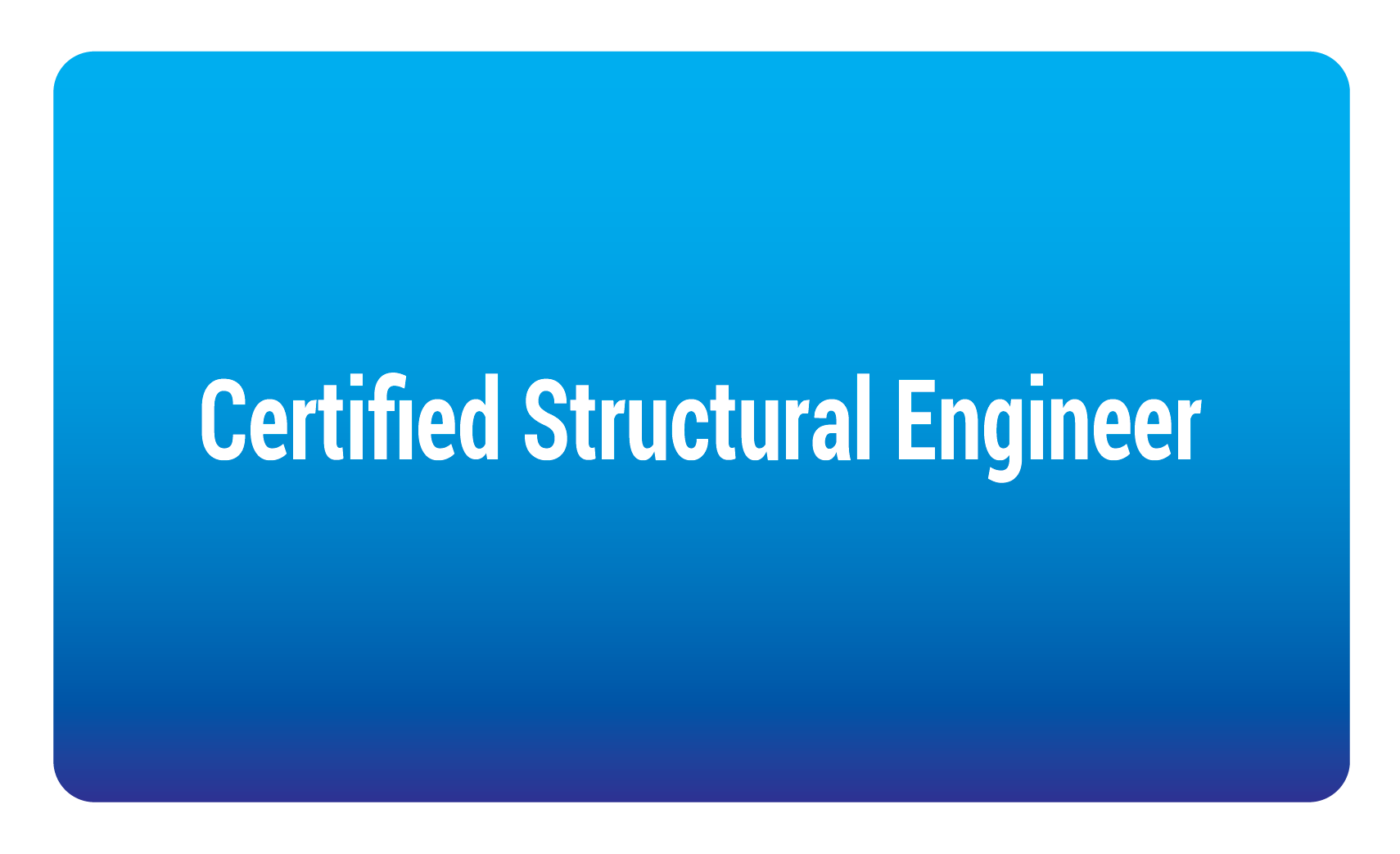 certified structural engineer