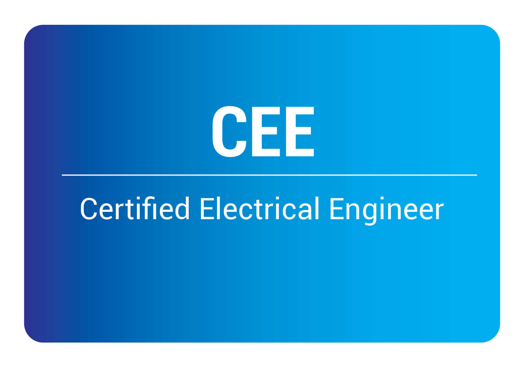 certified electrical engineer online training