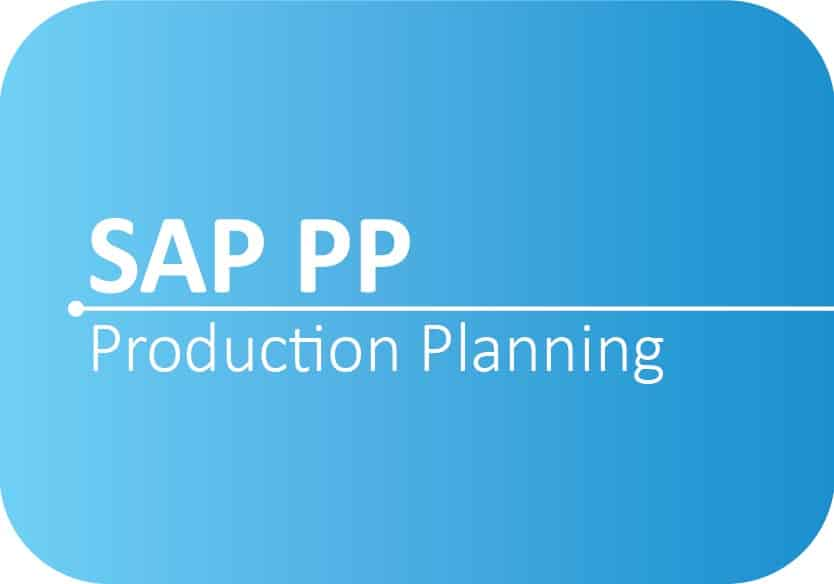 SAP PP Production Planning Online Certification Training Course | SMECLabs