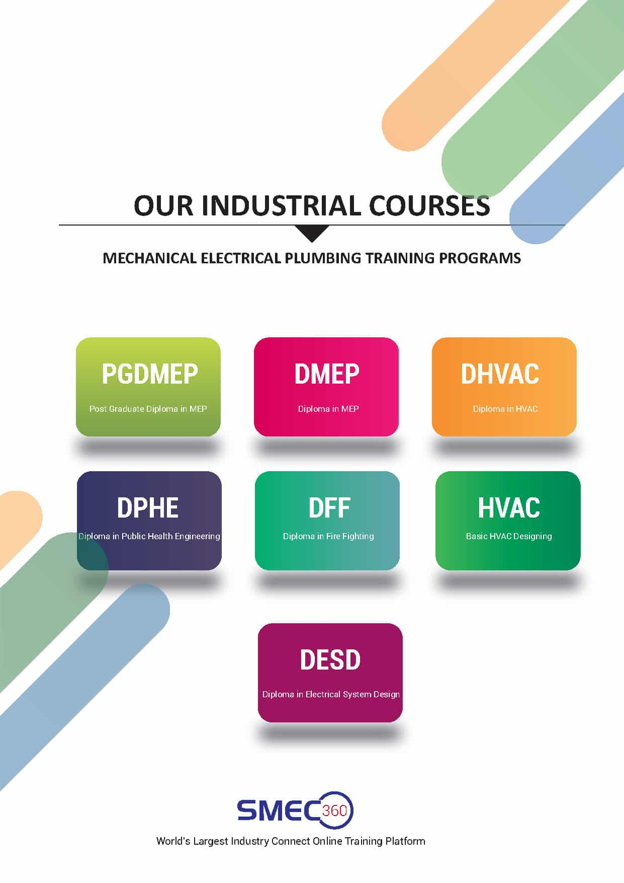 Mechanical electrical plumbing training syllabus brochure pdf
