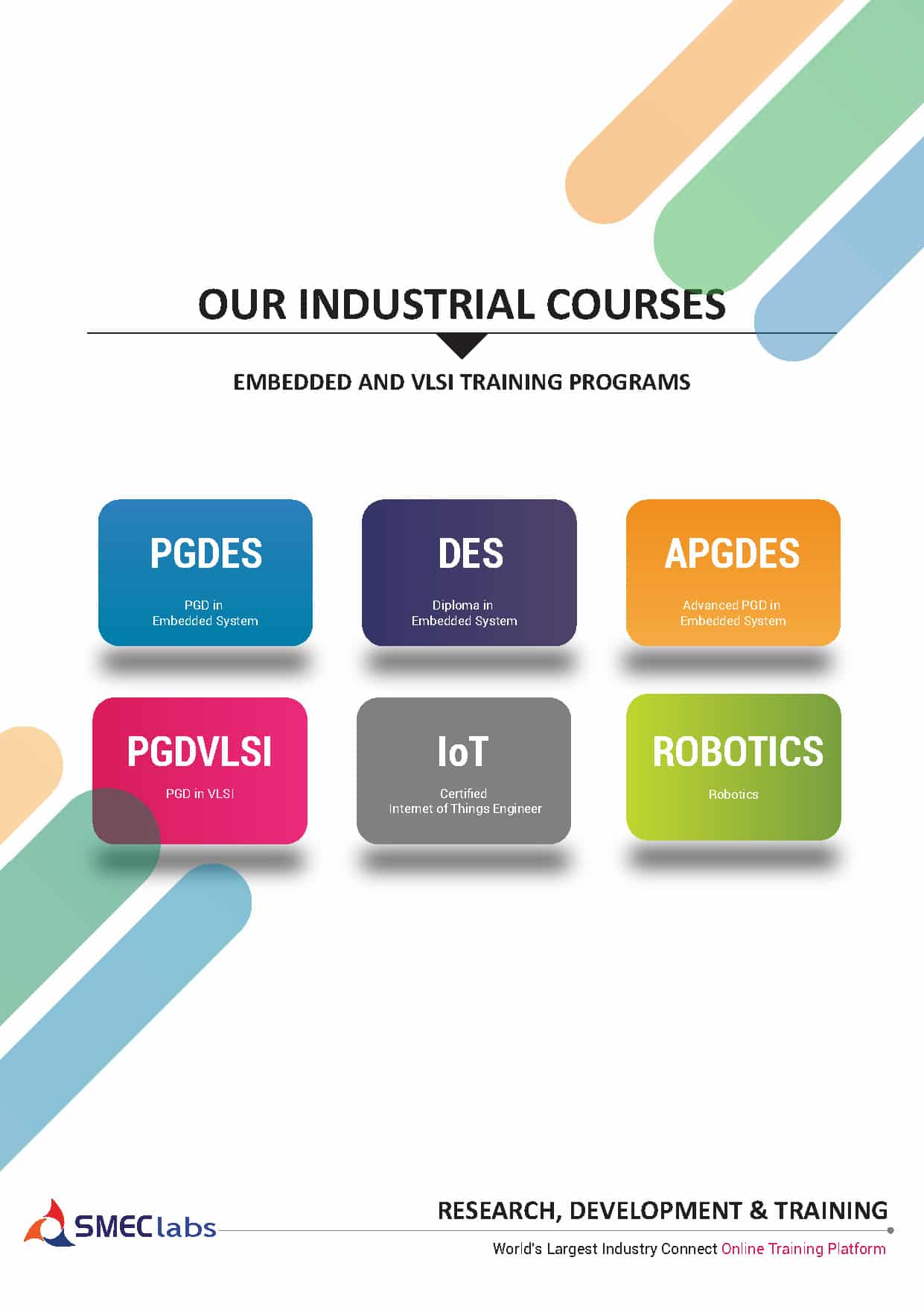 Embedded System VLSI Hardware designing training syllabus brochure pdf