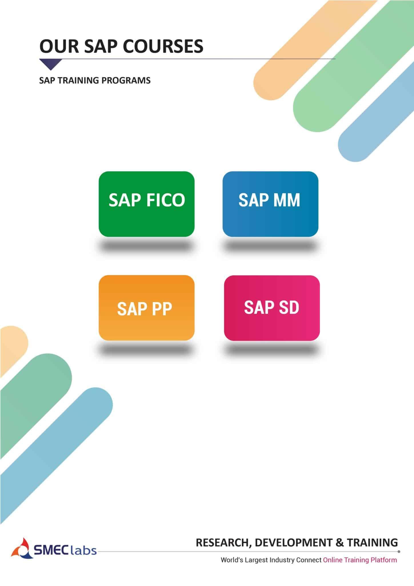 SAP Training Brochure Pdf