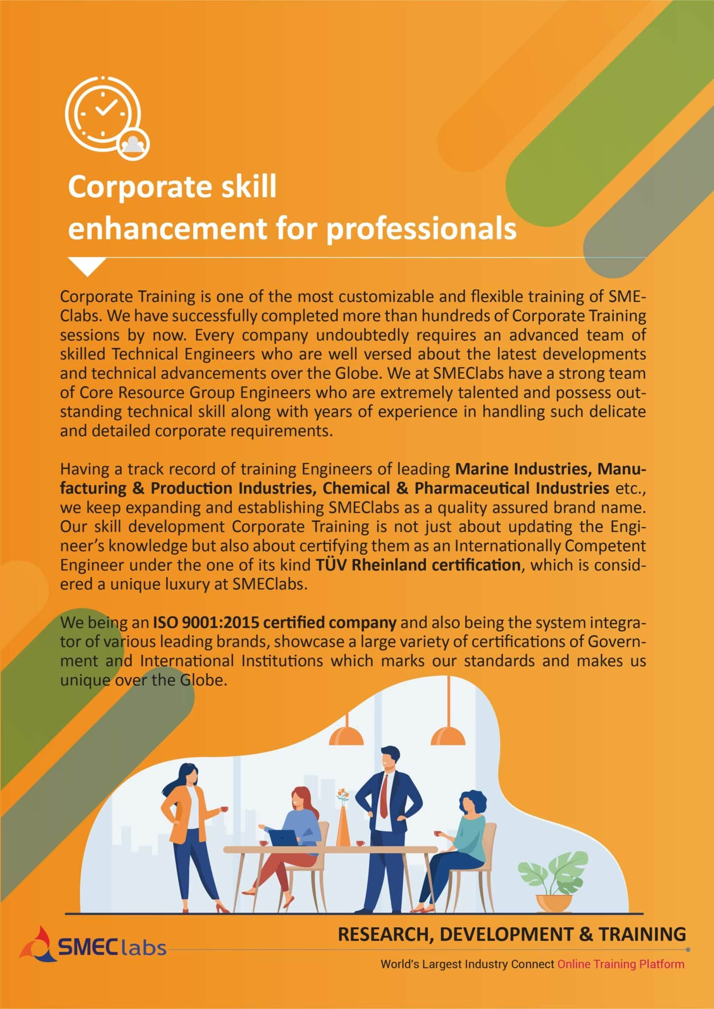 Corporate skill enhancement for professionals-smeclabs